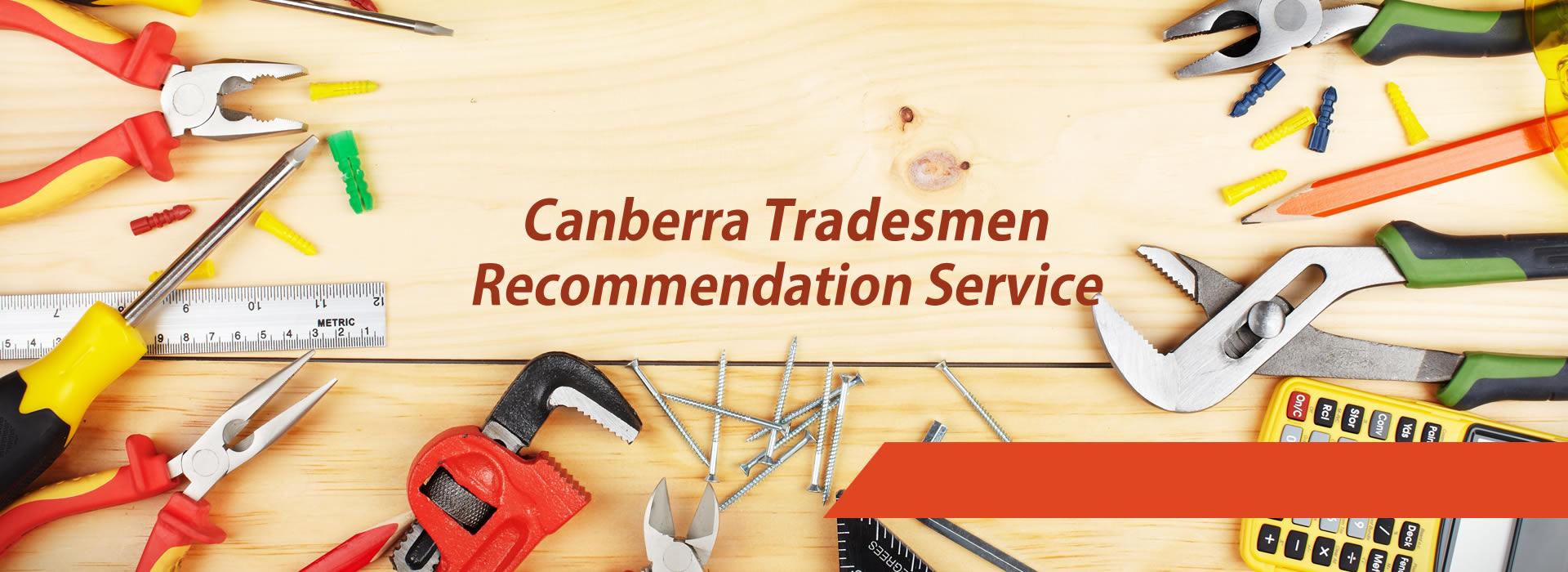 Tradesmen Directory Canberra